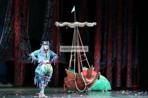 Водяной Андрей Ермохин, летучий корабль, мюзикл в театриуме Терезы Дуровой, фотографии, отзывы