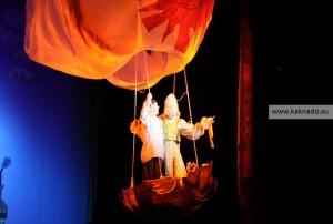 летучий корабль, мюзикл в театриуме Терезы Дуровой, фотографии, отзывы, финал, сцена с летучим кораблем