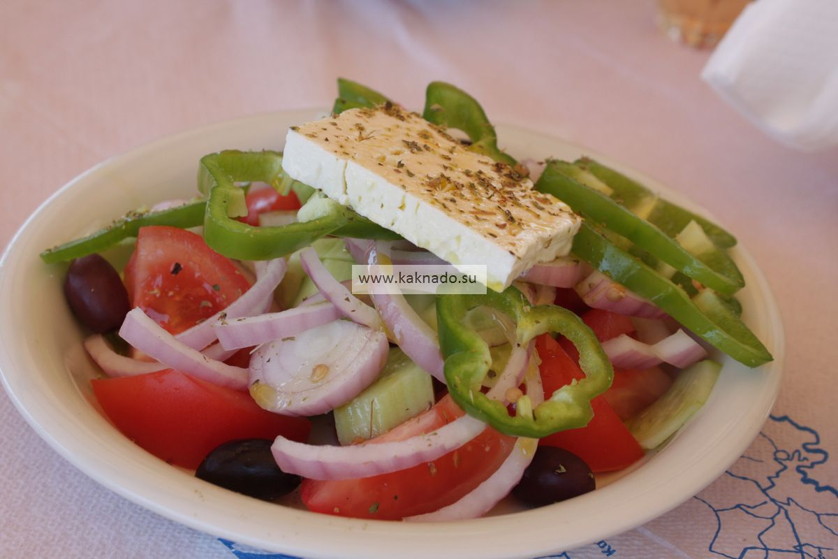 закинтос греческий салат