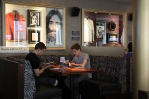 интерьер hard rock cafe helsinki