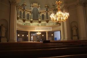 кафедральный собор хельсинки орган