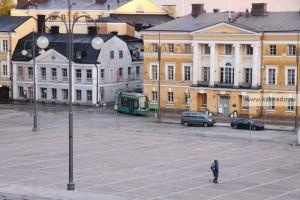 соборная площадь трамвай в хельсинки