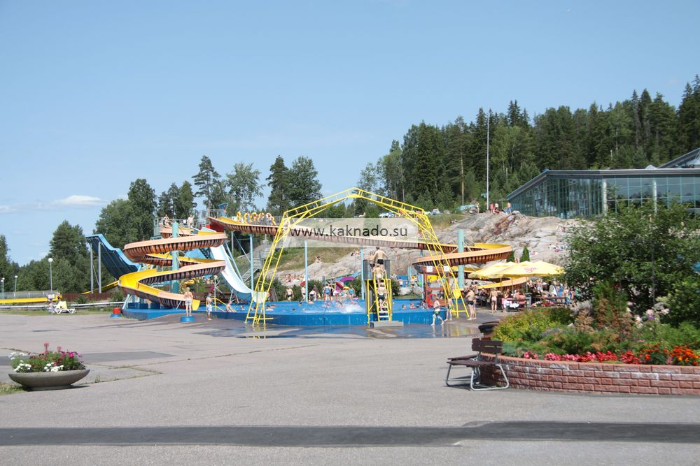 аквапарк в финляндии, аквапарк серена в эспоо