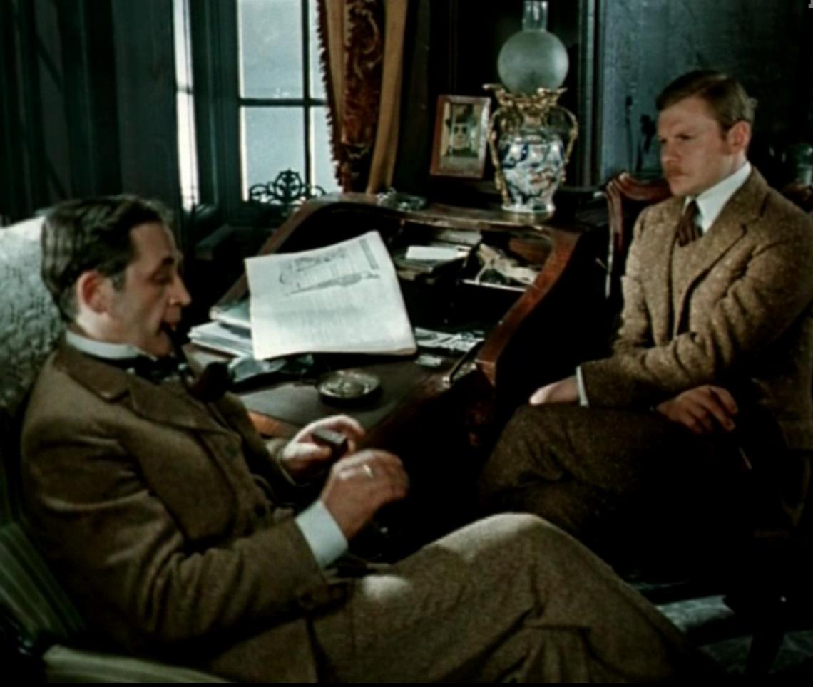 съемки советского сериала про шерлока холмса