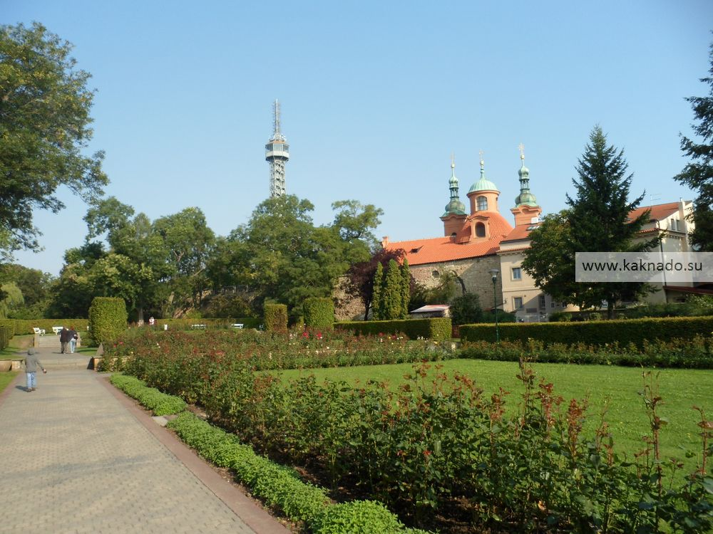 На холме Петршин, Прага