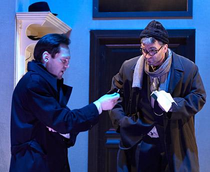 В случае убийства набирайте М, спектакль театра Моссовета, детектив в Моссовете