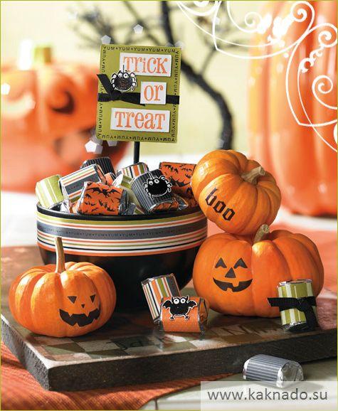 Идеи оформления стола на хеллоуин 05