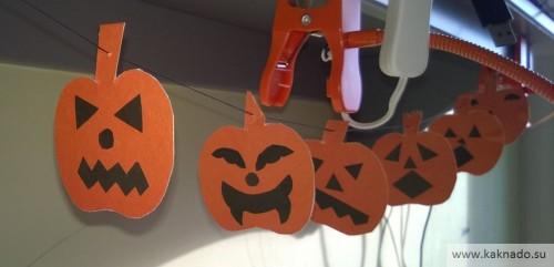 поделки с ребенком на хеллоуин