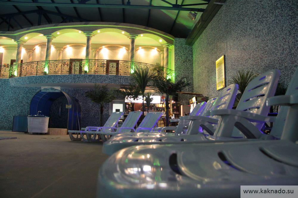барская усадьба бассейн