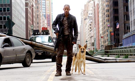 Will Smith in I Am Legend.