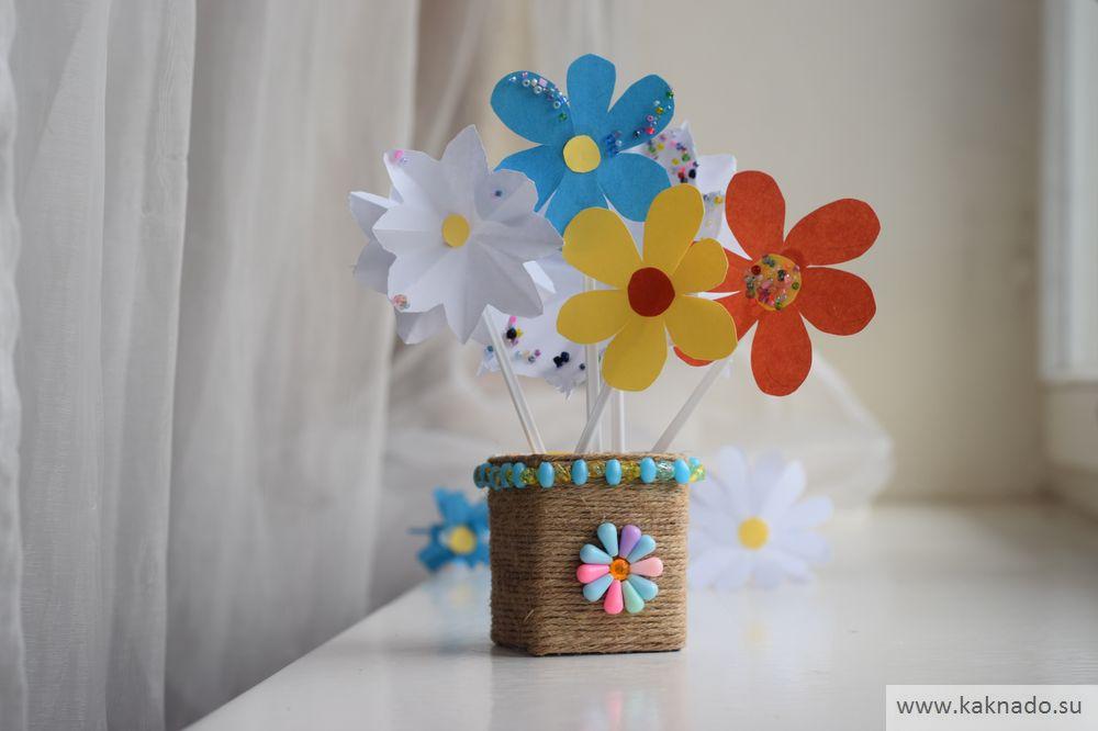поделка вазочка на 8 марта_07