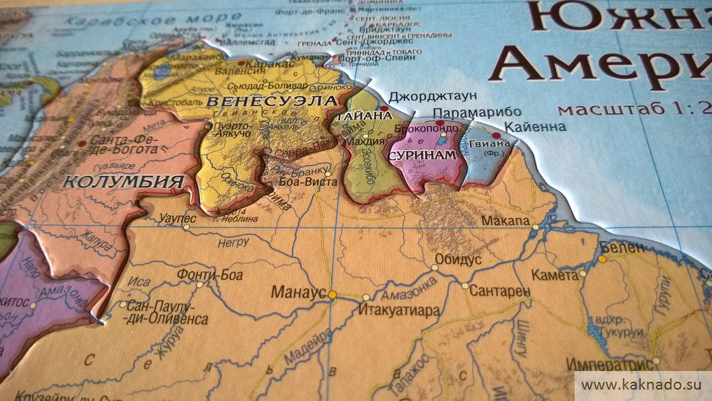 южная америка карта-пазл_11