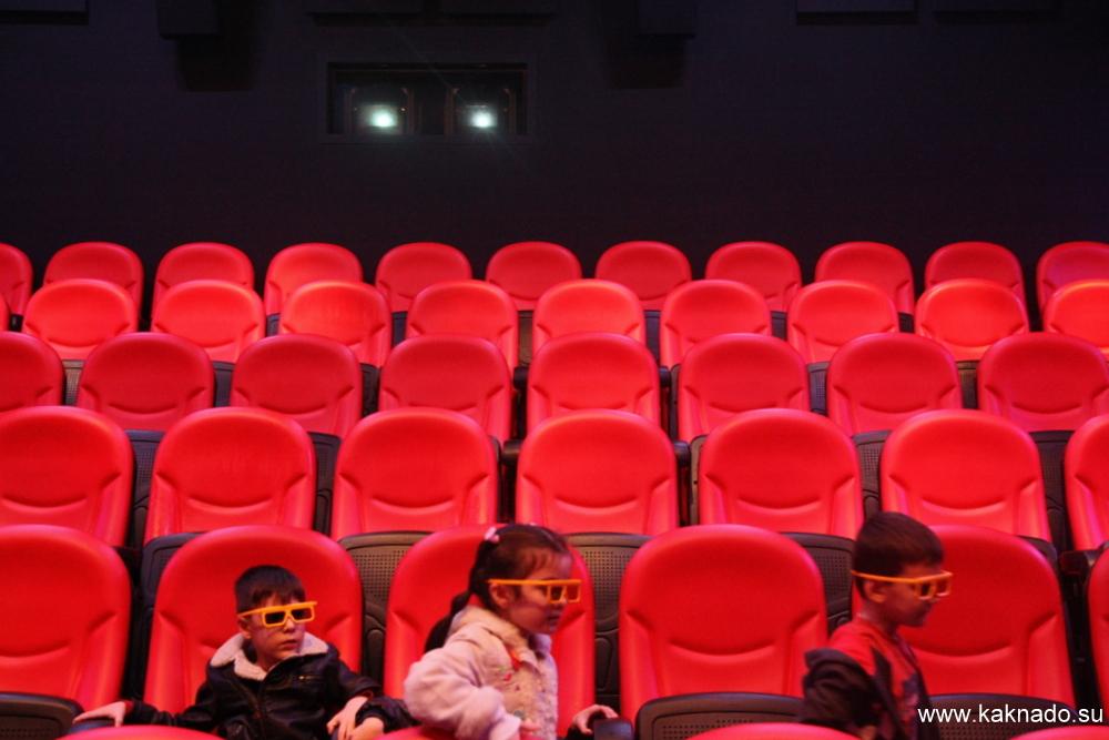 4D кино в Лего