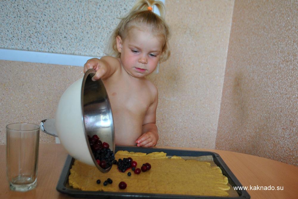 рецепт ягодного пирога