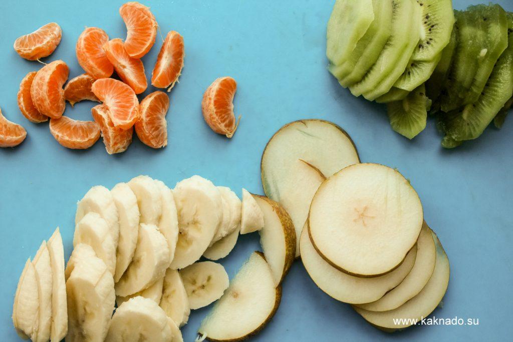 фрукты для фруктового торта