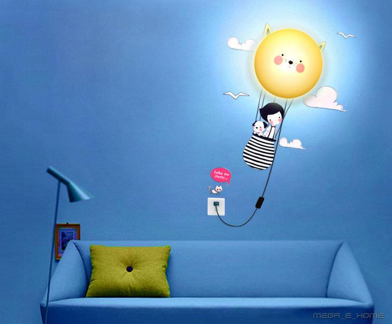 светильники в детской комнате03
