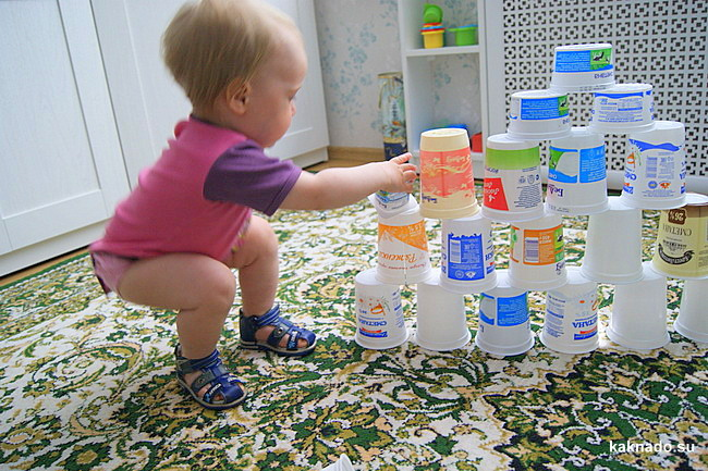 Игрушки своими руками, дети от 6 месяцев, игрушки малышам